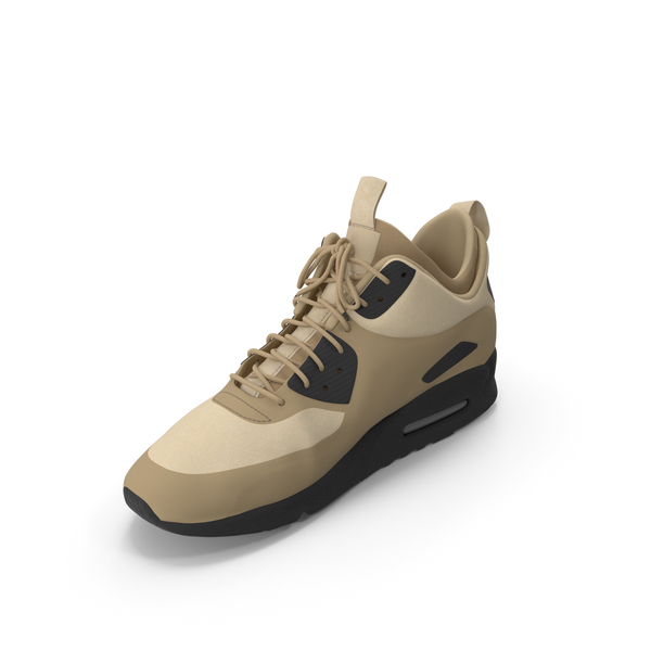 Men's Sneakers Beige PNG & PSD Images