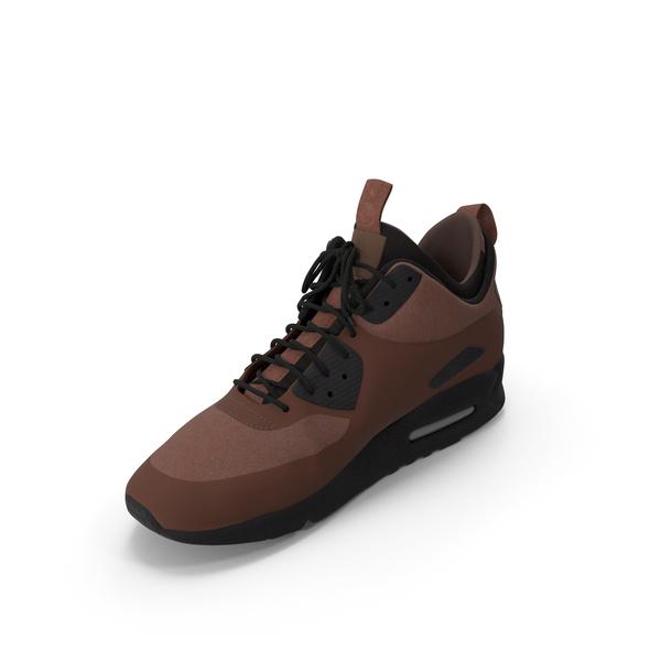 Men's Sneakers Brown PNG & PSD Images