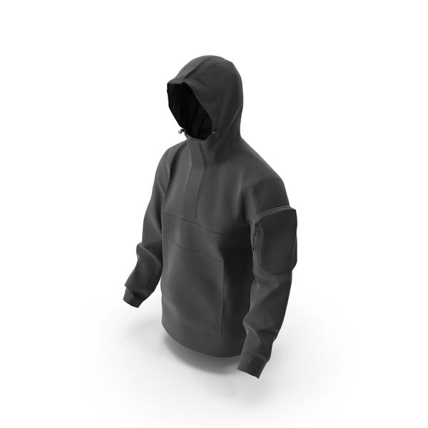 Men's Sport Jacket Black PNG & PSD Images
