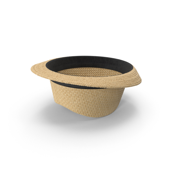 Men's Straw Hat PNG & PSD Images