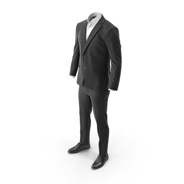 Men's Suit Black PNG & PSD Images