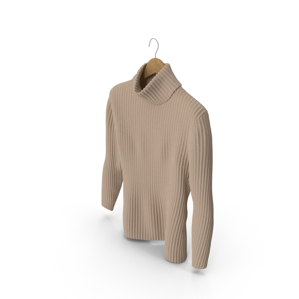 Men's Sweater Beige PNG & PSD Images