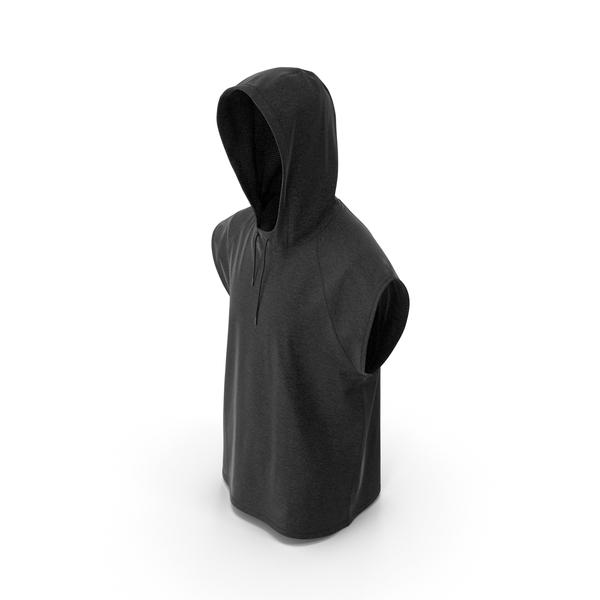 Men's Vest Black PNG & PSD Images