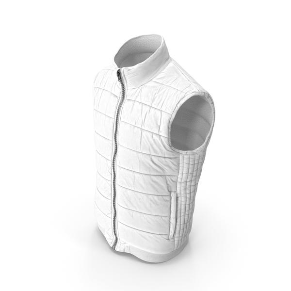 Men's Vest White PNG & PSD Images
