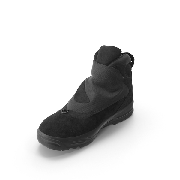 Snow Boots: Men's Winter Boot PNG & PSD Images
