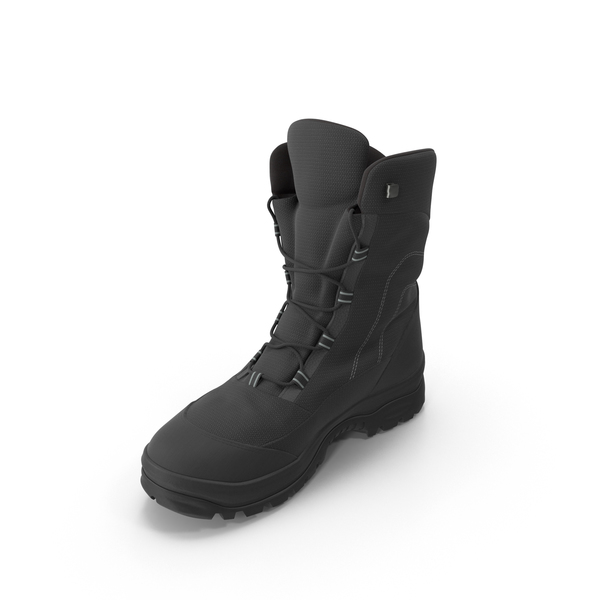 Men's Winter Boots PNG & PSD Images
