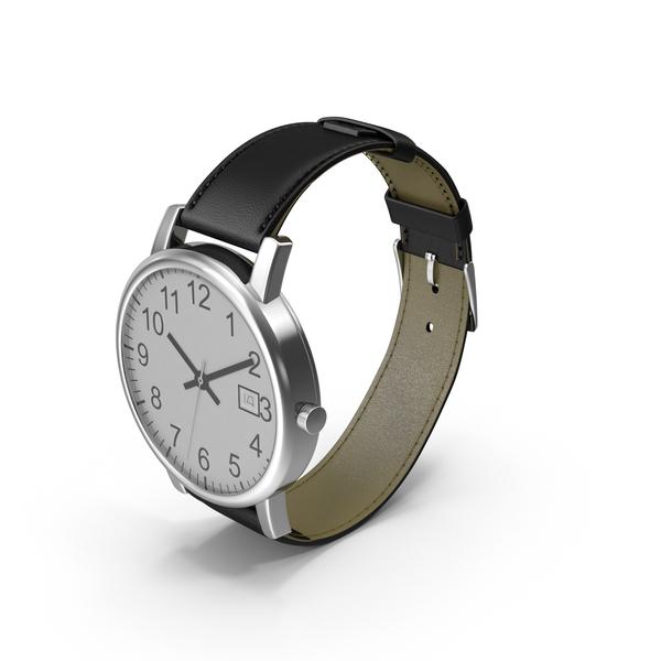 Men's Wrist Watch Object