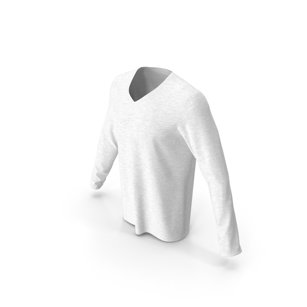 Men V Neck Sweatshirt PNG & PSD Images