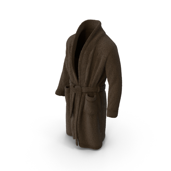 Mens Bathrobe Brown PNG & PSD Images