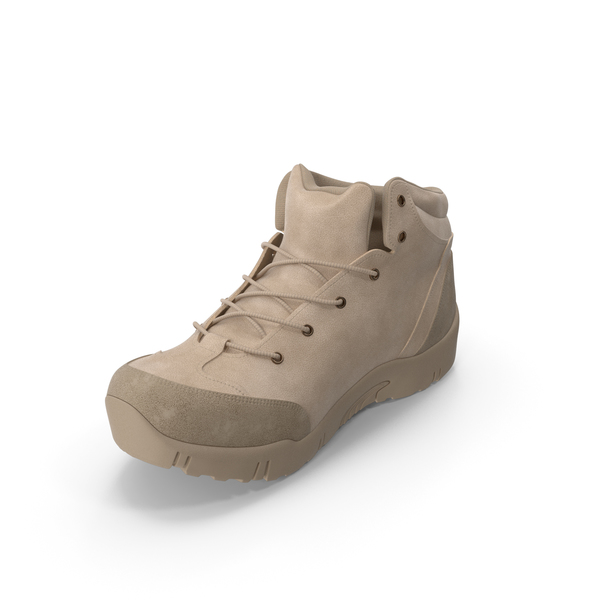 Mens Boots Beige PNG & PSD Images