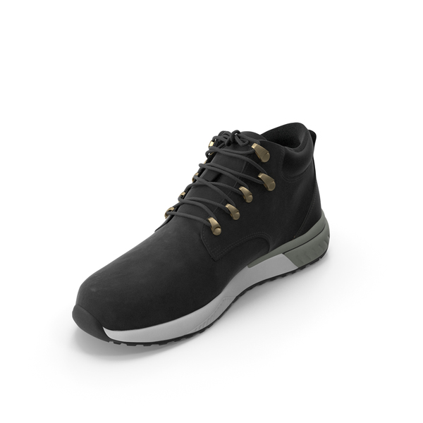 Mens Boots Black PNG & PSD Images