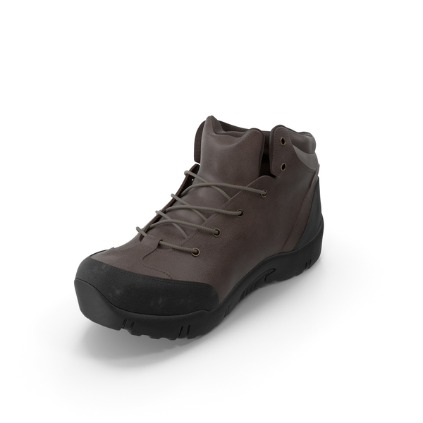 Hiking: Mens Boots Brown PNG & PSD Images