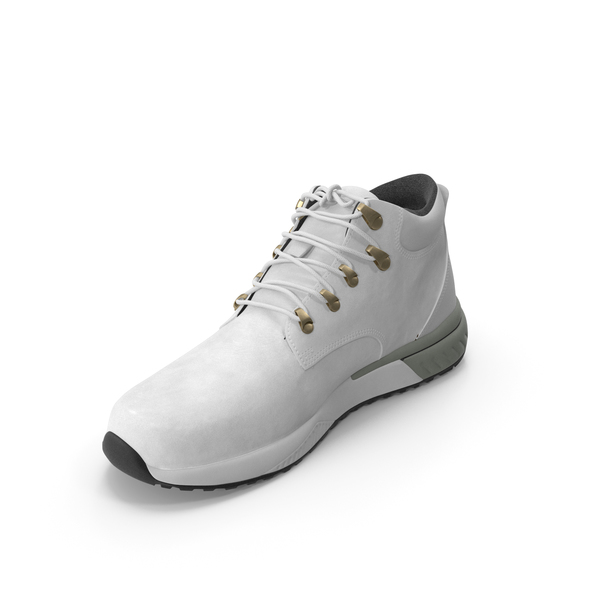 Mens Boots White PNG & PSD Images