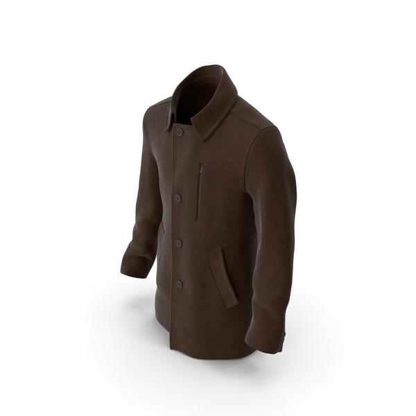 Mens Coat Brown PNG & PSD Images