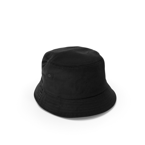Mens Hat Black 2 PNG & PSD Images