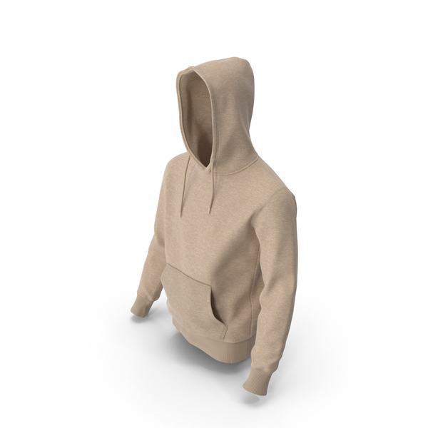 Mens Hoody Beige PNG & PSD Images