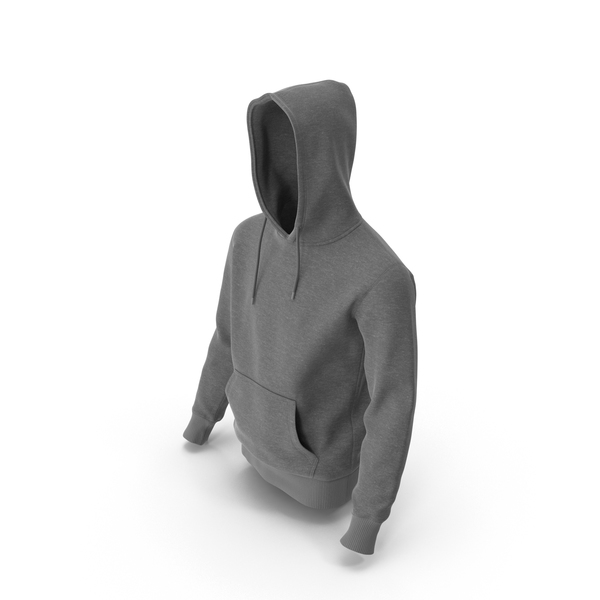 Mens Hoody Grey PNG & PSD Images