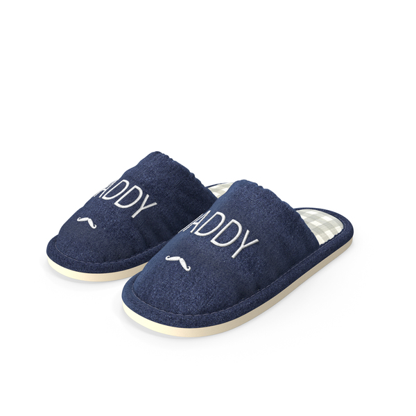 Mens Indoor House Slippers PNG & PSD Images