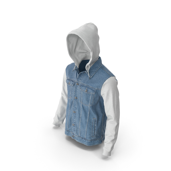 Mens Jean Jacket PNG & PSD Images