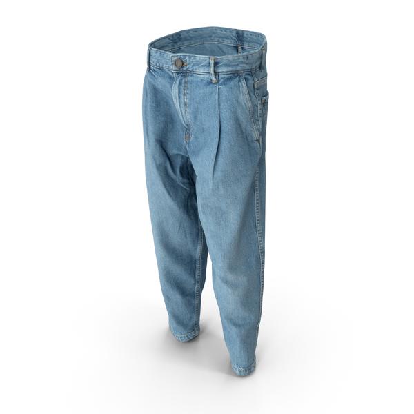 Mens Jeans Light Blue PNG & PSD Images