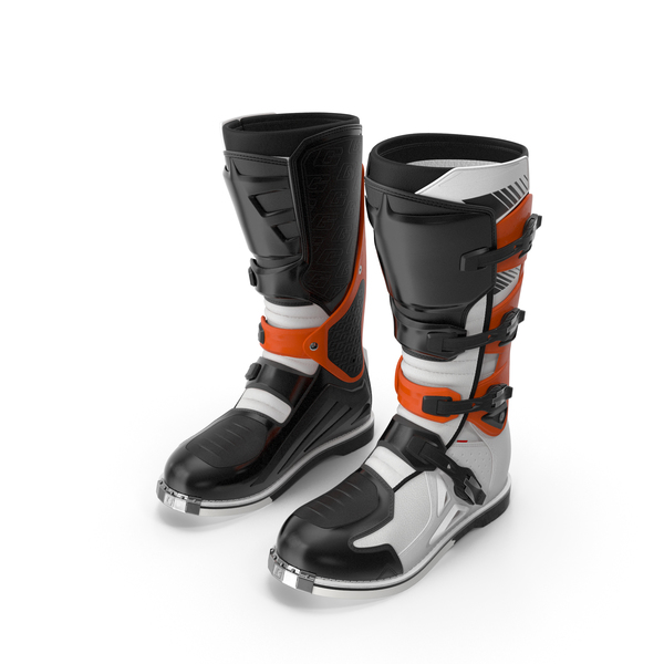 Mens Motocross Boots PNG & PSD Images