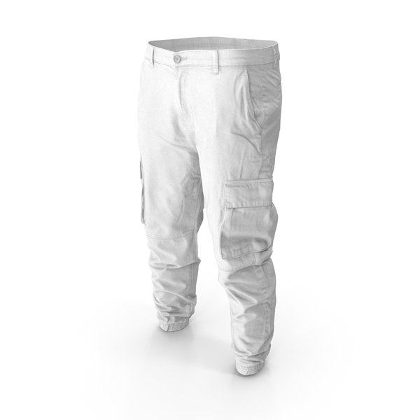 Mens Pants White PNG & PSD Images