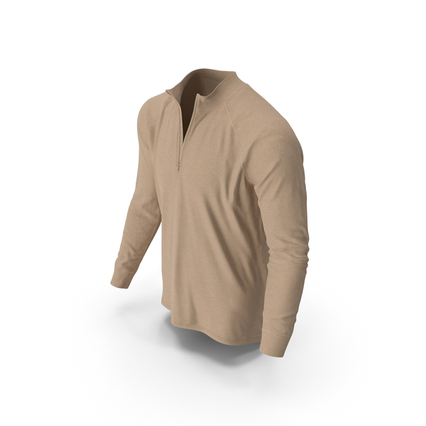 Mens Pullover Beige PNG & PSD Images