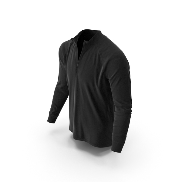 Sweater: Mens Pullover Black PNG & PSD Images