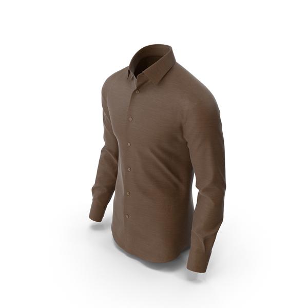 Mens Shirt Brown PNG & PSD Images