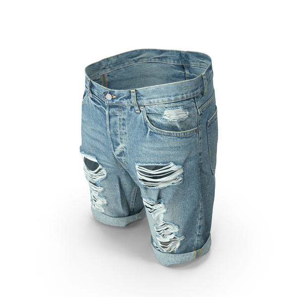 Mens Shorts Blue PNG & PSD Images