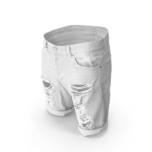 Mens Shorts White PNG & PSD Images