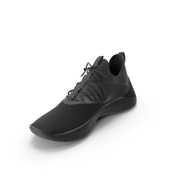 Shoes: Mens Sneakers Black PNG & PSD Images