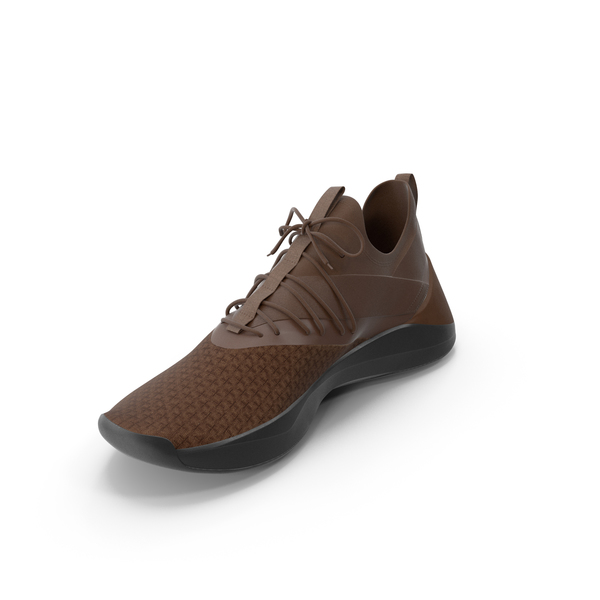 Shoes: Mens Sneakers Brown PNG & PSD Images