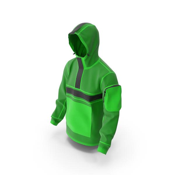 Mens Sport Jacket Green PNG & PSD Images