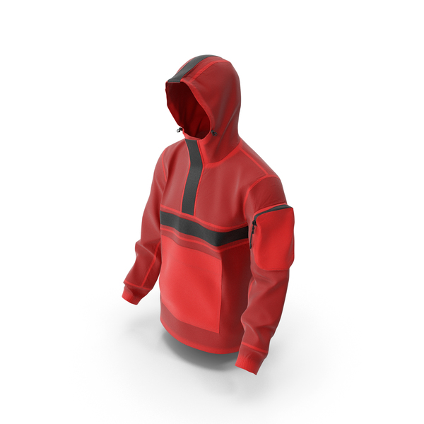Winter Coat: Mens Sport Jacket Red PNG & PSD Images