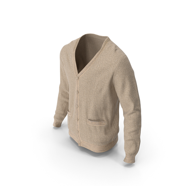 Mens Sweater Beige PNG & PSD Images
