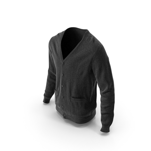 Mens Sweater Black PNG & PSD Images