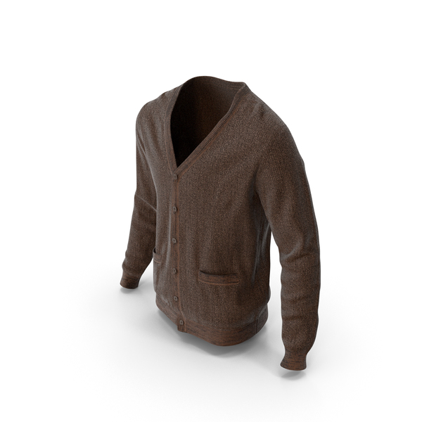 Mens Sweater Brown PNG & PSD Images