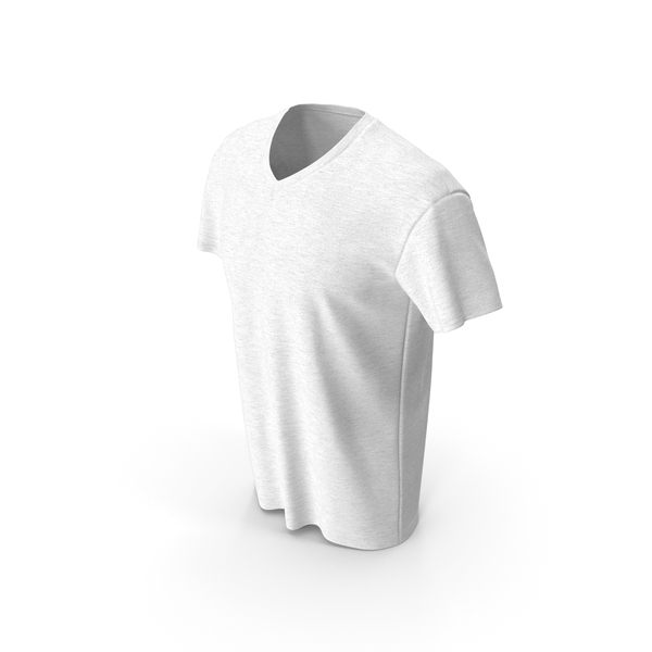 Mens V Neck T-shirt PNG & PSD Images