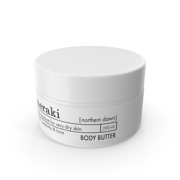 Meraki Northern Dawn Body Butter PNG & PSD Images