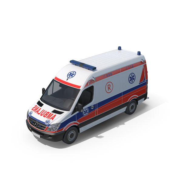 Mercedes Ambulance PNG & PSD Images