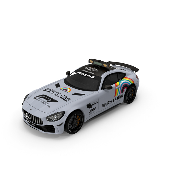 Mercedes AMG GTR FIA F1 Safety Car 2020 PNG & PSD Images