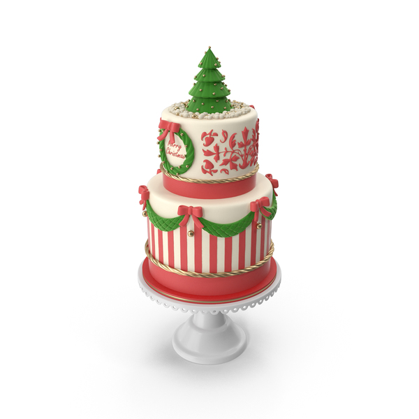 Merry Christmas Cake PNG & PSD Images