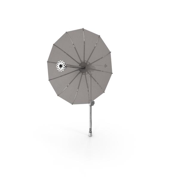 Mesh Dish Antenna PNG & PSD Images