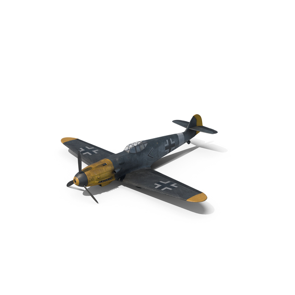 Messerschmitt BF-109 PNG & PSD Images