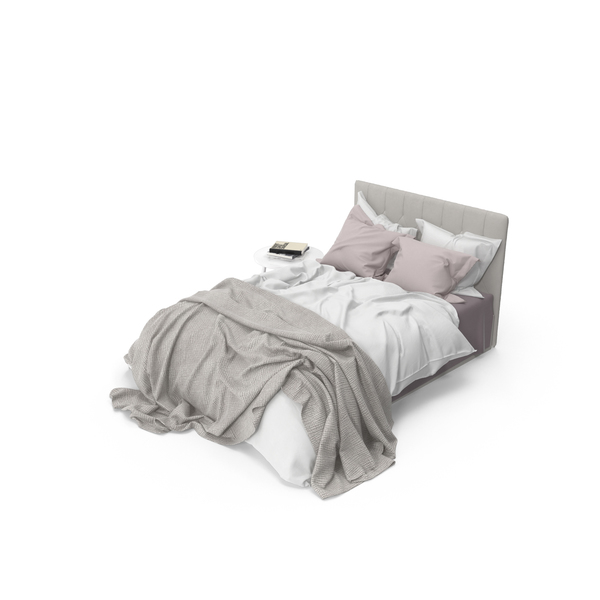 Messy Bed Set PNG & PSD Images