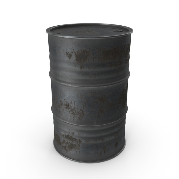 Metal Barrel Rusty PNG & PSD Images