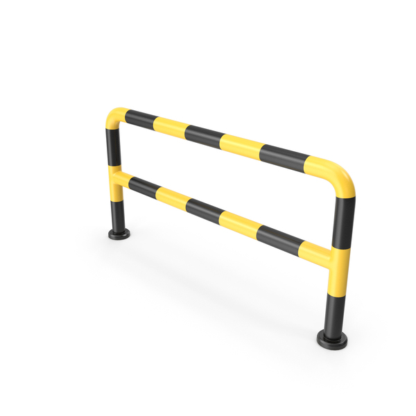Concrete Barrier: Metal Blocker PNG & PSD Images