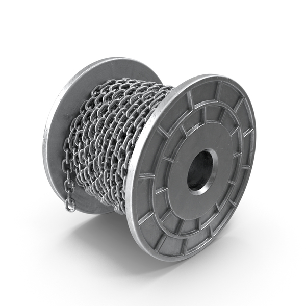 Metal Bobbin Steel Chain PNG & PSD Images