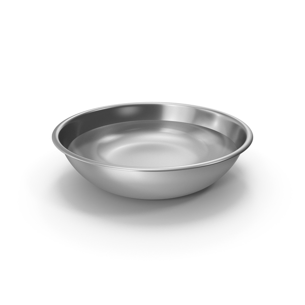 Metal Bowl With Water PNG & PSD Images